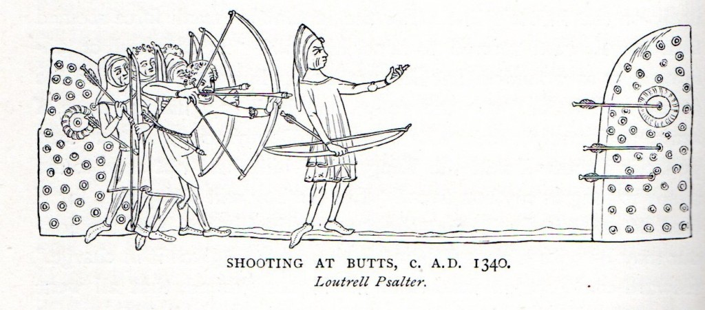 14th Century Archery butts