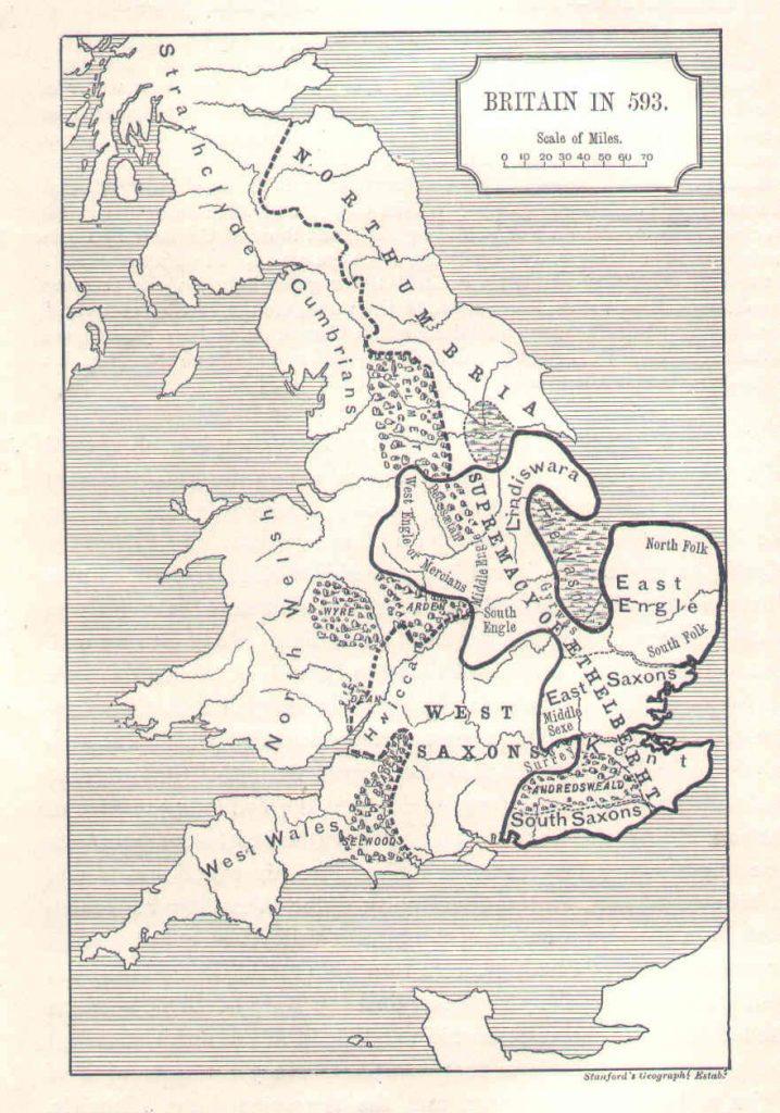 England 593 ad