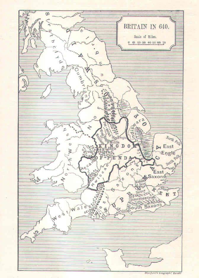 England 640 ad King Penda