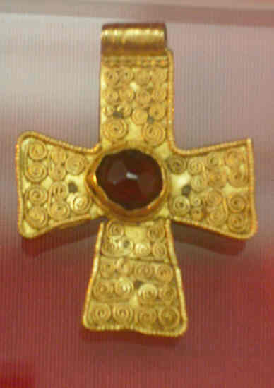 Original anglo saxon Gold cross