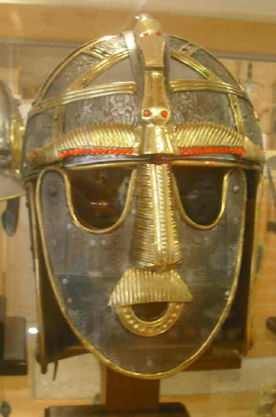Sutton Hoo helmet copy Royal Armouries