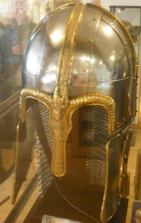 Reproduction Saxon Helmet.