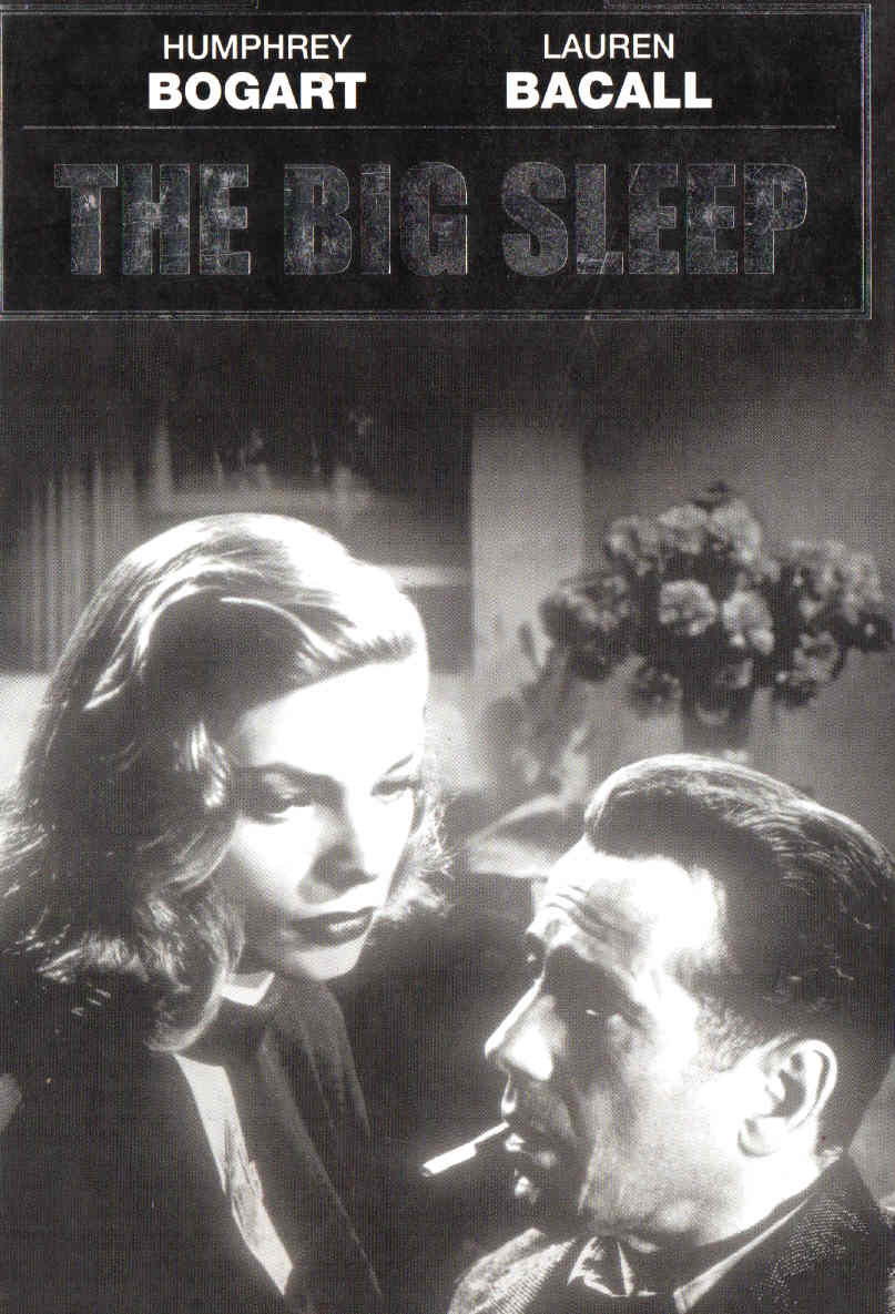 Big sleep Humphrey Bogart