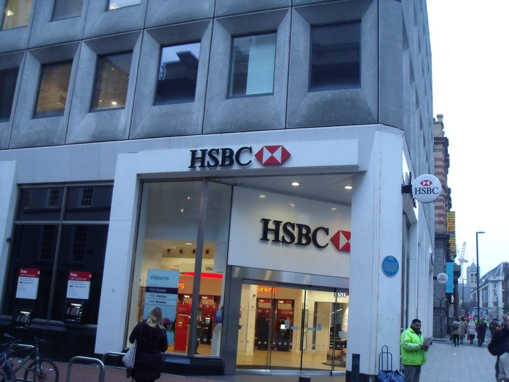 HSBC Park Row Leeds UK