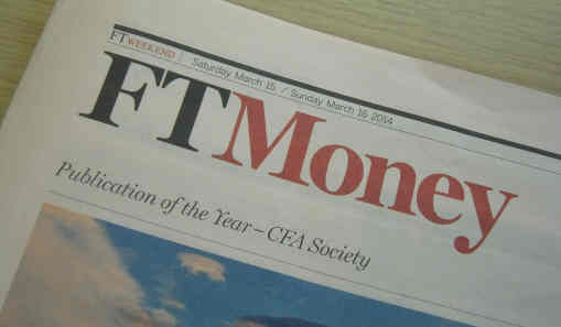 Financial Times Money section