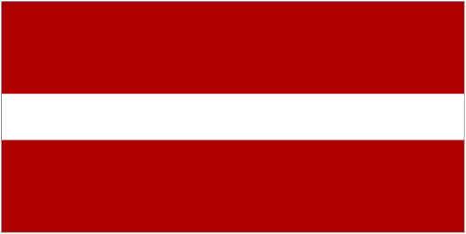Latvian Flag 2016