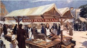 M & S First Market stall Leeds