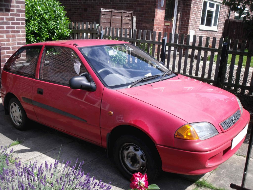 Suzuki Swift 1 litre UK 1998
