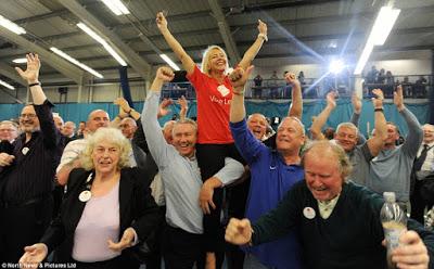 Brexit jubilation