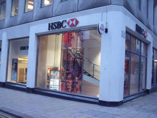 HSBC branch exterior