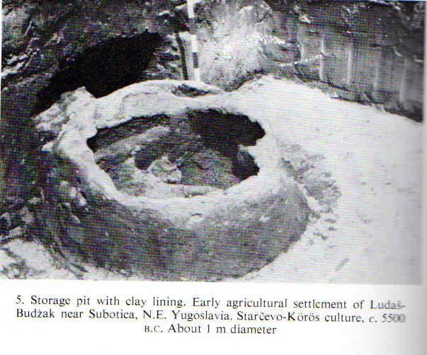 Neolithic Storage Pit Yugoslavia