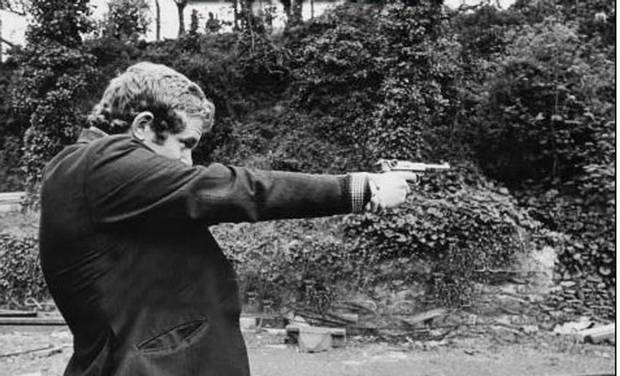 Martin McGuinness and handgun