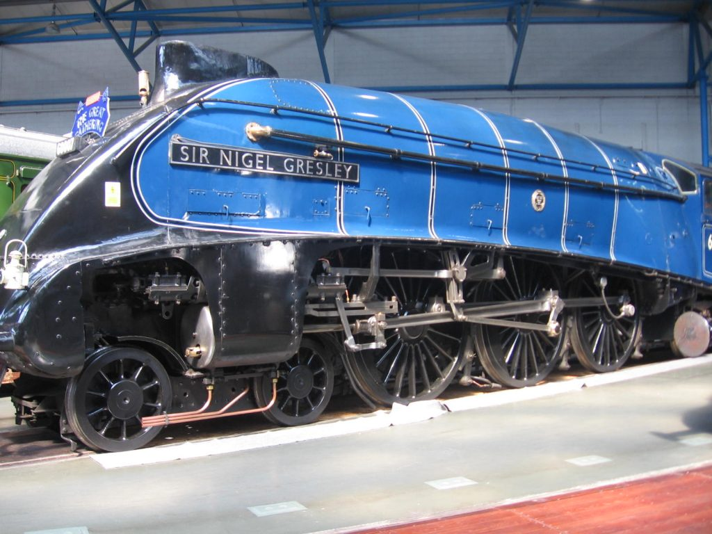 Steam Locomotive Sir Nigel Gresley A4