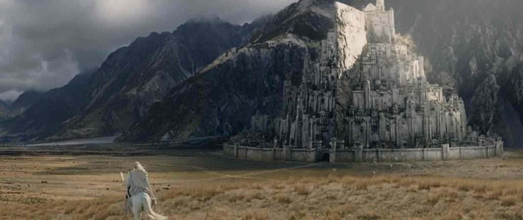 Minas Tirith Gandalf, Shadowfax, Frodo