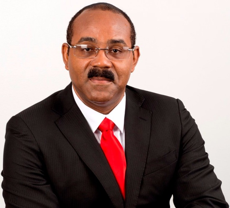Prime Minister Gaston Browne