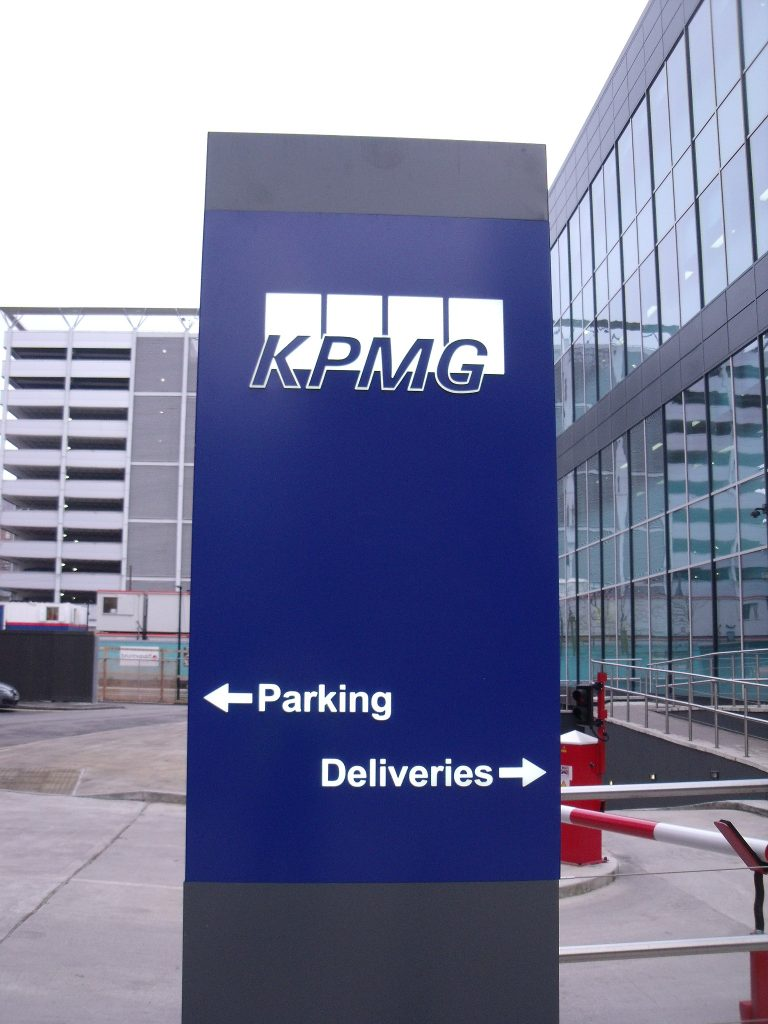 KPHM Leeds Offices sign