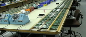 Micron production line